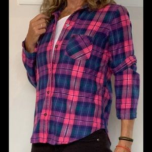 Victoria's Secret Long Sleeve Button Down Shirt